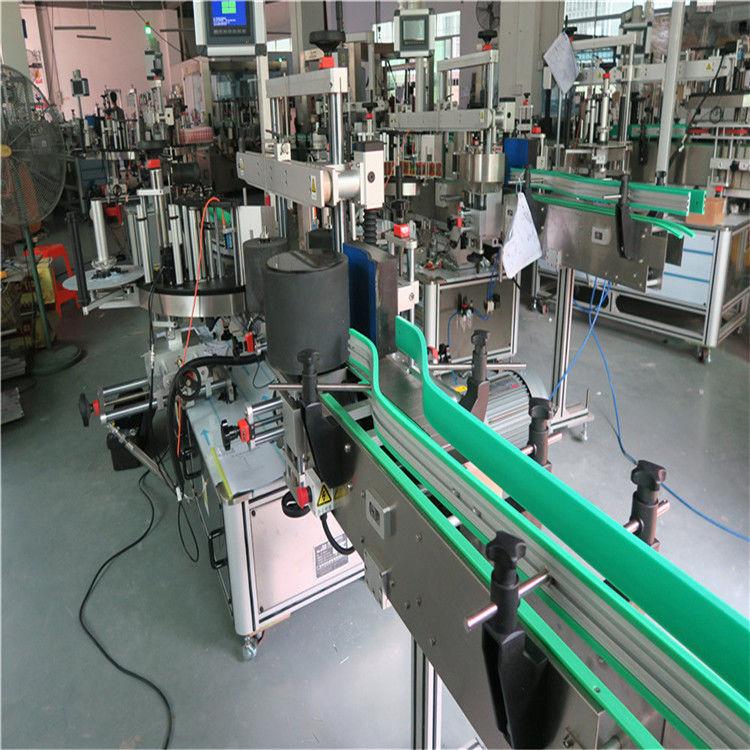 Double taille auto-adhésive latérale de la machine à étiqueter de bouteille d'autocollant 190mm maximum