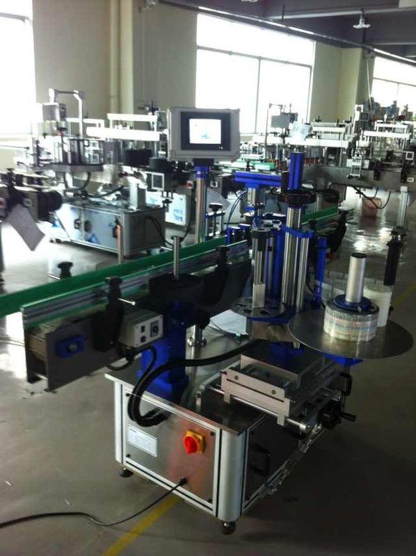 Applicateur d'étiquettes d'autocollant complètement automatique, machine à étiquettes de bouteilles