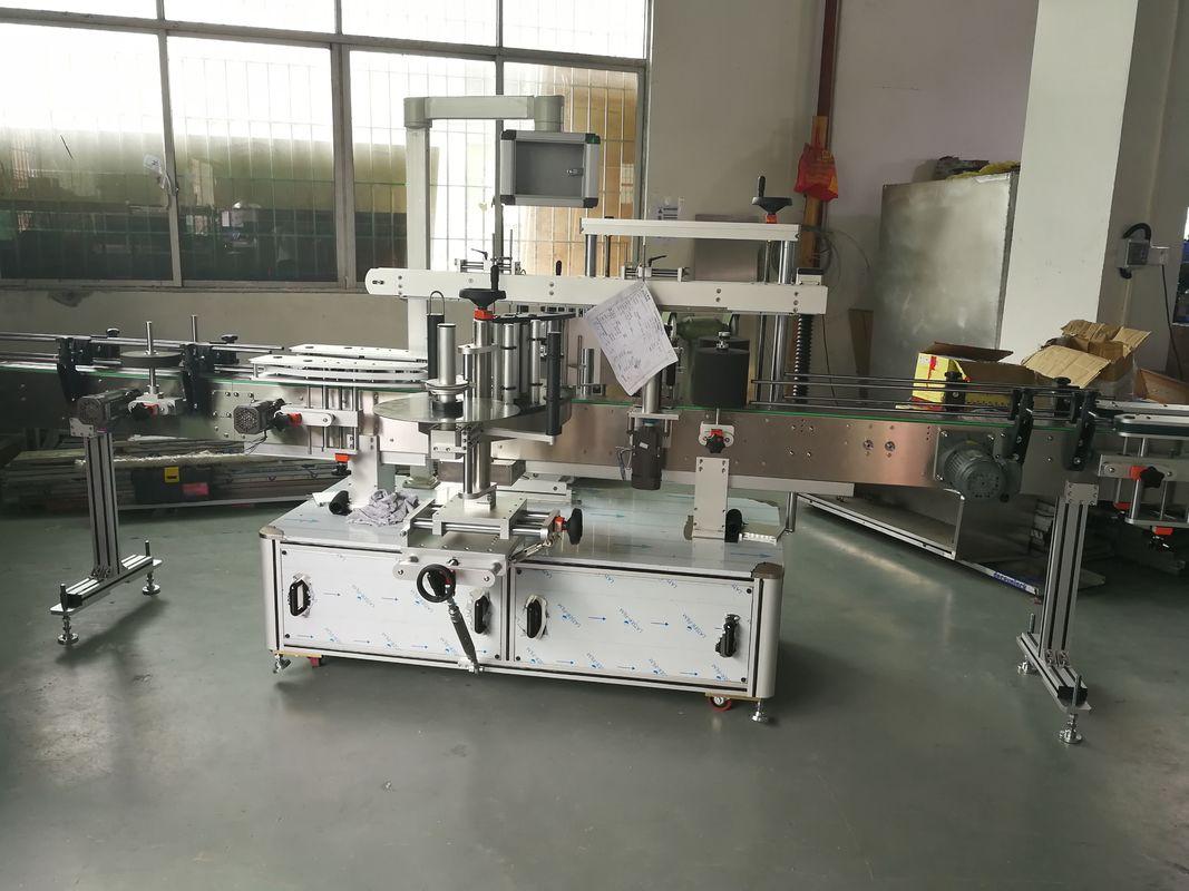 Machine à étiquettes automatique d'autocollant de bouteille de jus / vin, machine automatique d'étiqueteuse