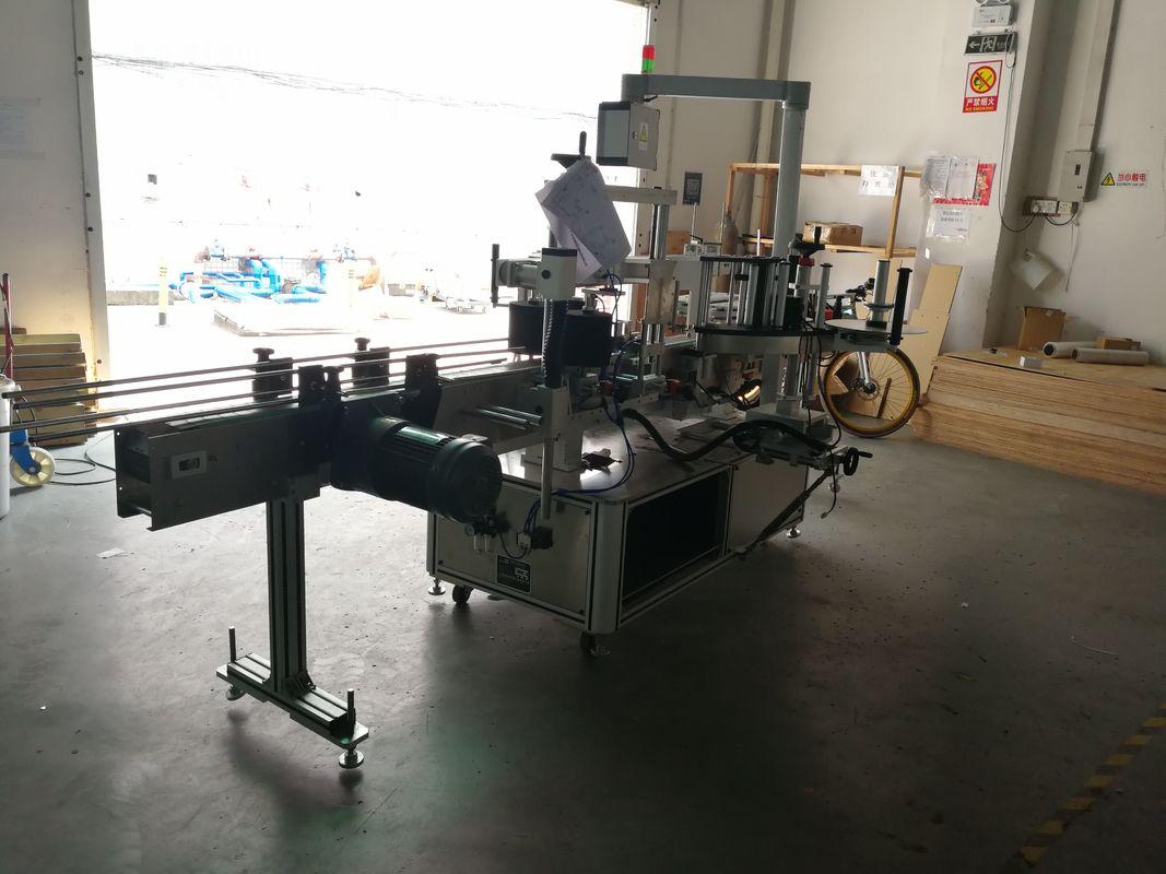Machine à étiqueter sensible à la pression de bouteille plate un côté ou deux côtés