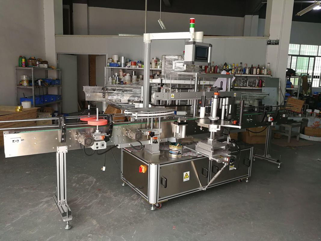 Machine à étiqueter multifonction de bouteille plate multifonction de haute précision à entraînement électrique