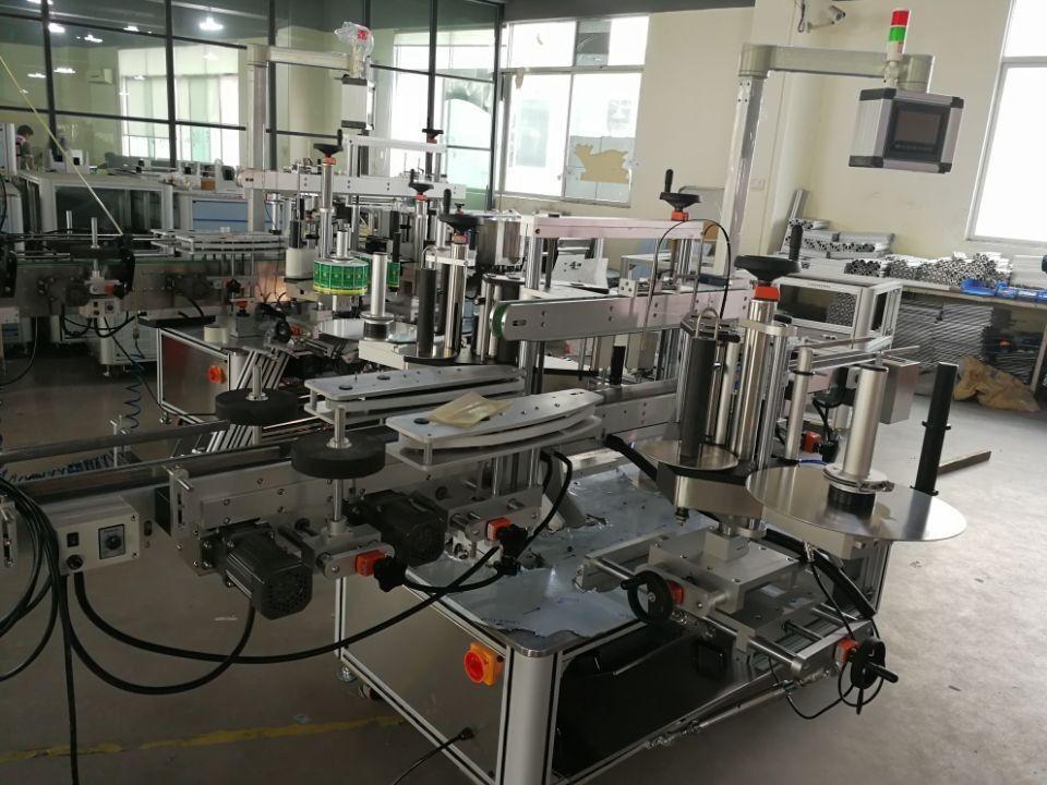 Système d'étiquetage à double joint d'angle à grande vitesse pour cartons pharmaceutiques