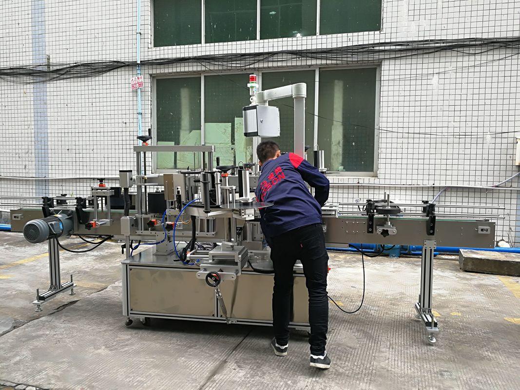 Machine à étiqueter complètement automatique de bouteille d'eau pour la bouteille en verre / PET