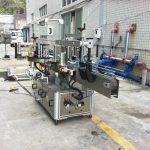 Machine adhésive d'applicateur d'autocollant pour le cône carré rond d'eau minérale