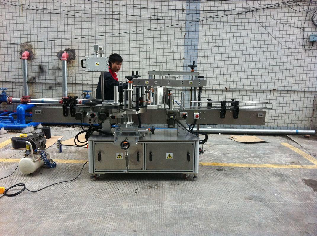 Machine à étiqueter ronde adhésive complètement automatique de bouteille pour des bouteilles d'animal familier