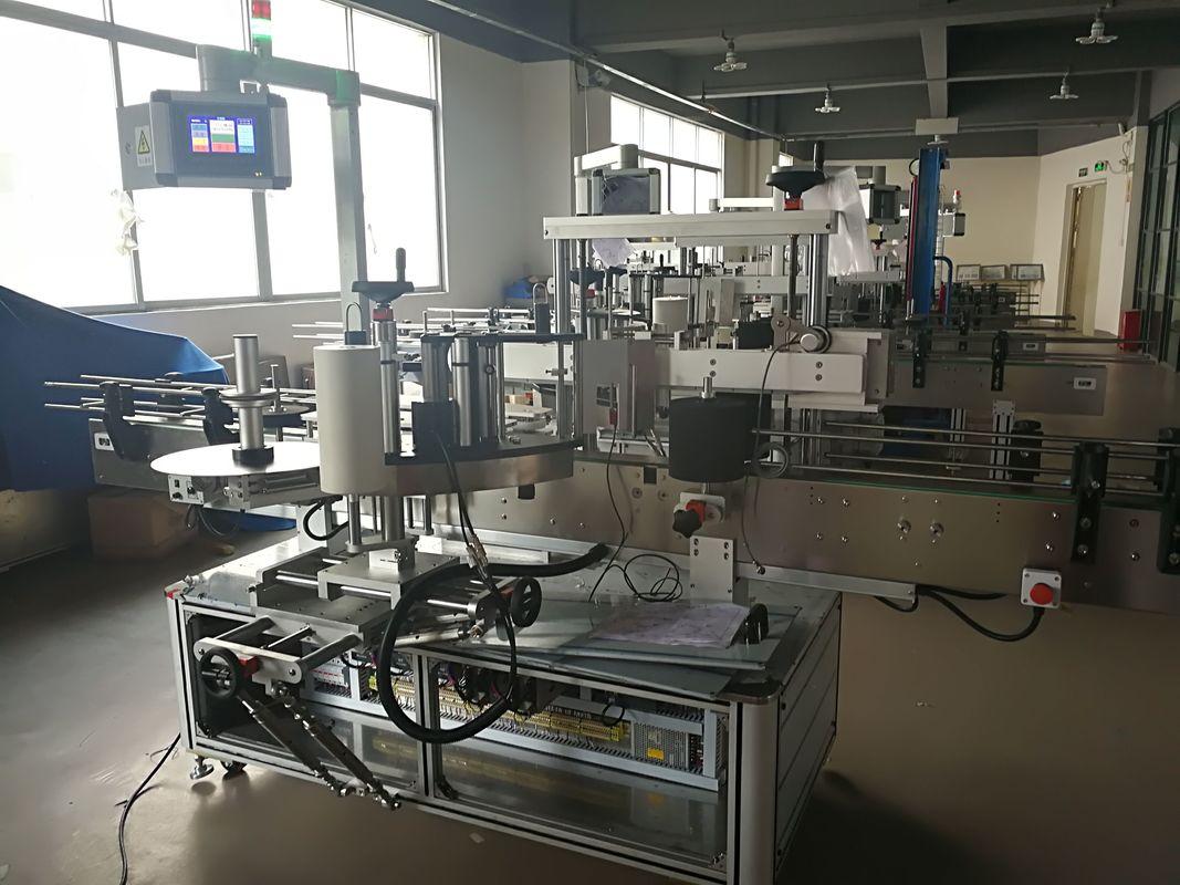 Machine d'étiquetage de bouteille plate, machine automatique d'applicateur d'étiquette