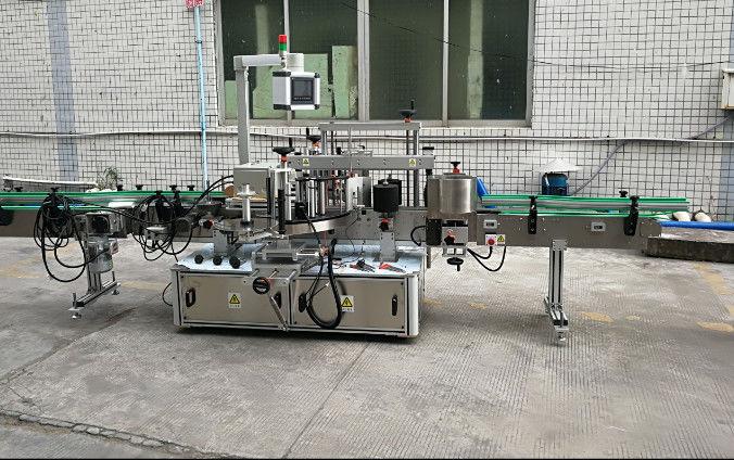Machine à étiquettes automatique à deux côtés avec servomoteur