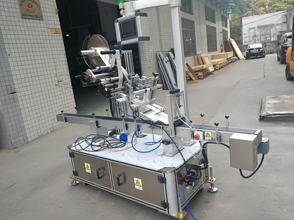 Machine à étiquettes supérieure d'autocollant pour le type à entraînement électrique de poche de buse