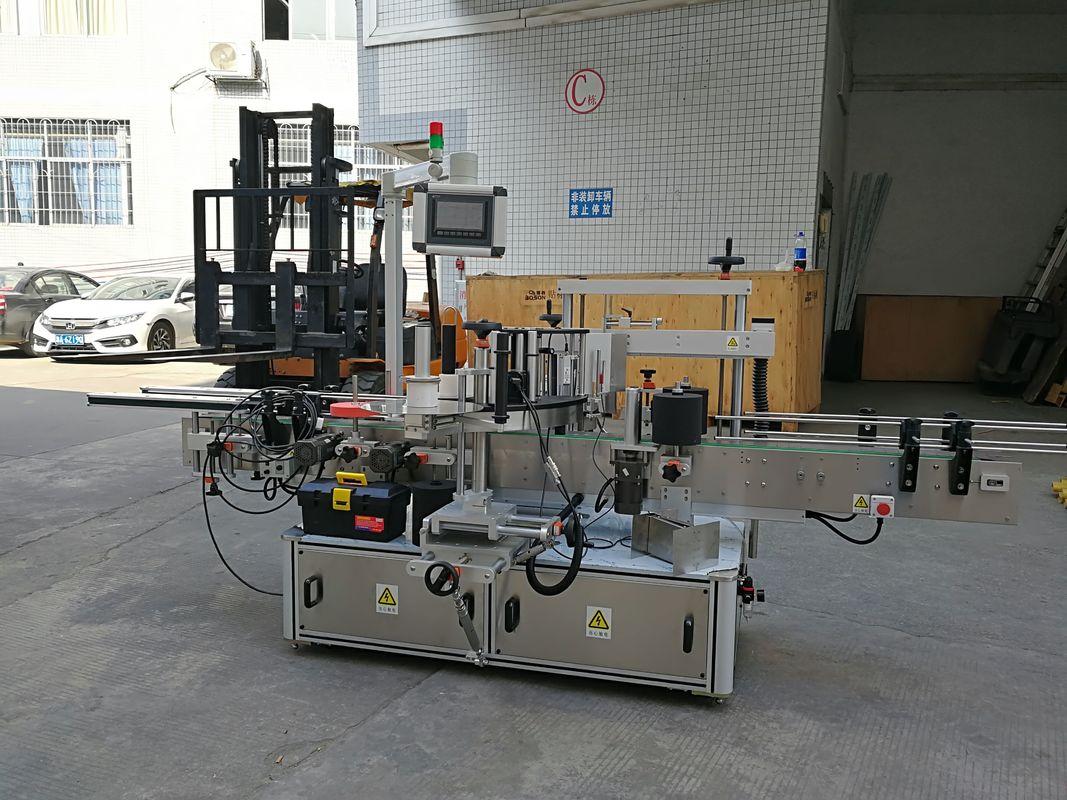 Machine à étiquettes automatique d'autocollant de la CE pour le petit cachetage de coins de carton