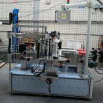 Machine à étiquettes automatique de bouteille ovale elliptique double autocollant latéral