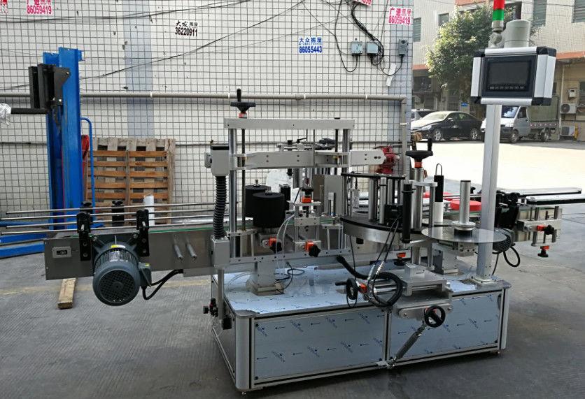 Machine d'applicateur d'étiquettes auto-adhésives entièrement automatique pour bouteilles