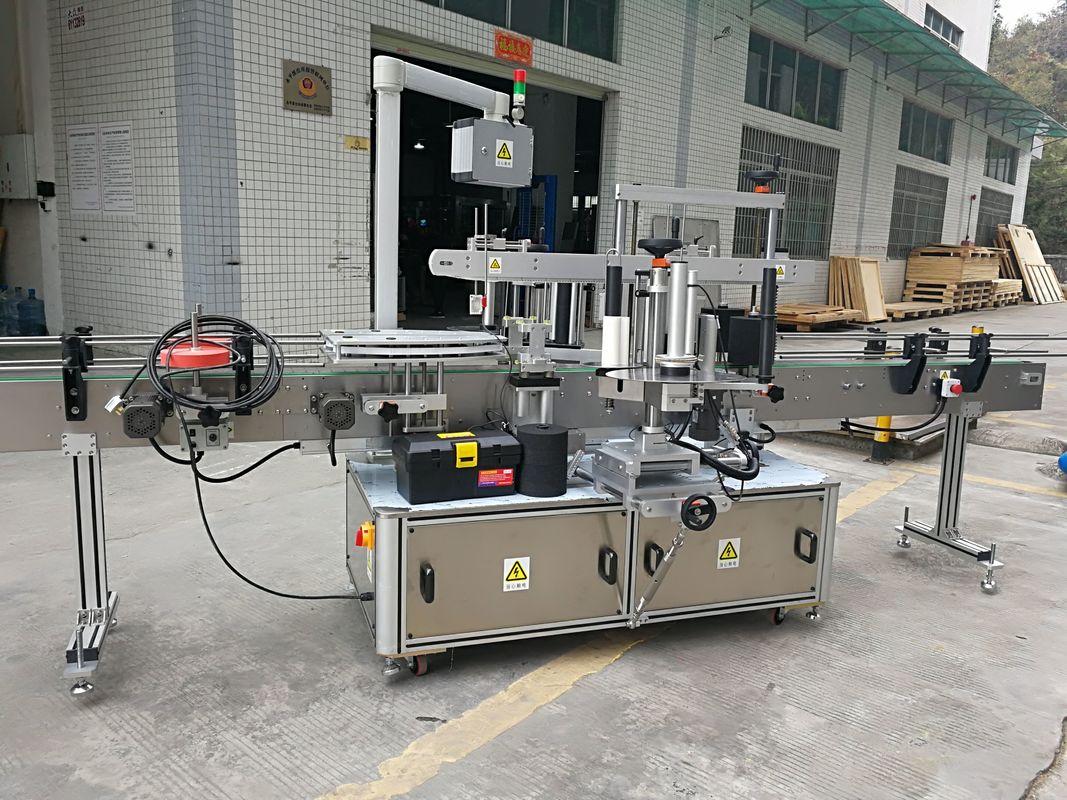 Machine à étiquettes complètement automatique d'autocollant de cachetage de coin de carton 220V 50HZ 1200W