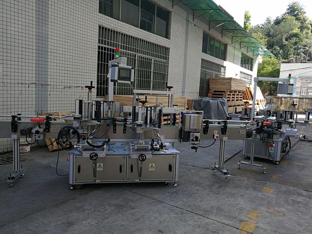 Machine à étiquettes plate / carrée d'autocollant de bouteille capacité complètement automatique 5000-8000B / H