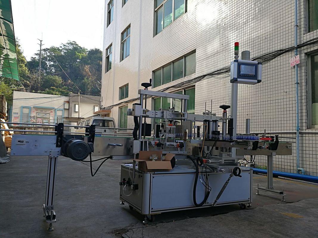 Machine à étiqueter de bouteille plate latérale adhésive de haute précision